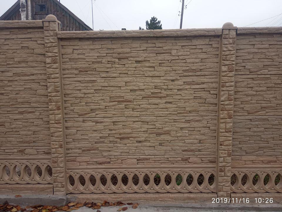 Старт производства нового типа бетонного ограждения из ABS форм в Запорожье